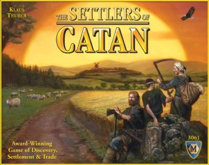 Settlers of Catan cover